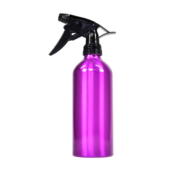 Glammar Purple Metallic Spray Bottle