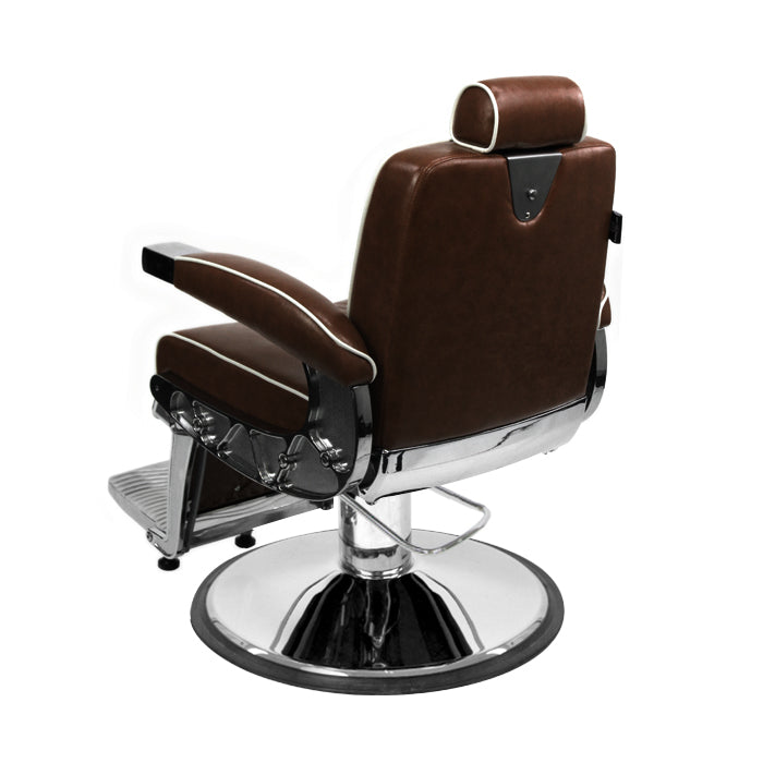 Barber Culture Escobar Barber Chair Brown