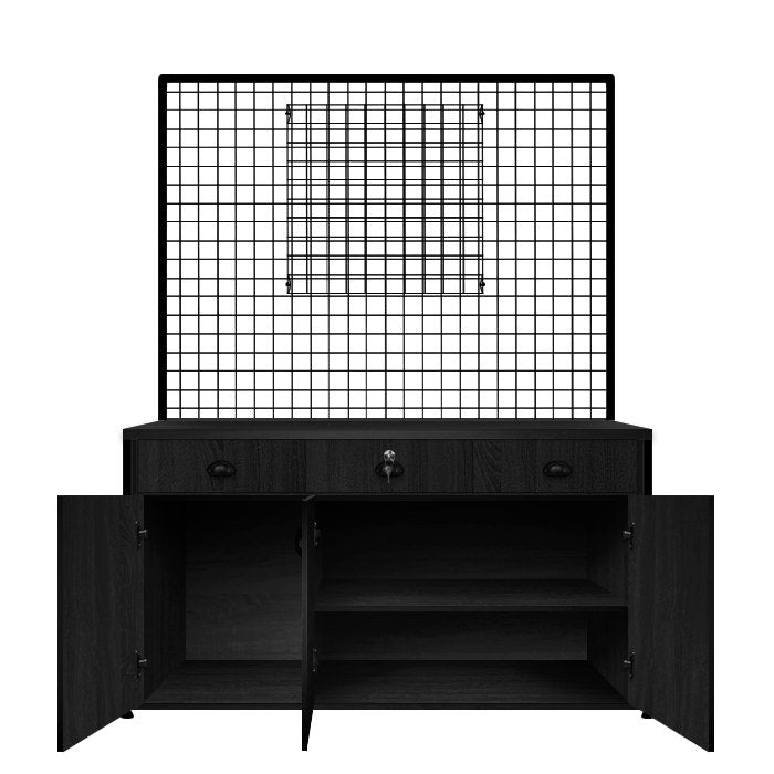 Glammar Prairie Colour Bar Black - salonfurnitureco