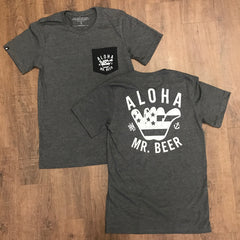 Aloha Mr. Beer pocket shirt