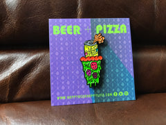 HBHL Beer and Pizza Pin