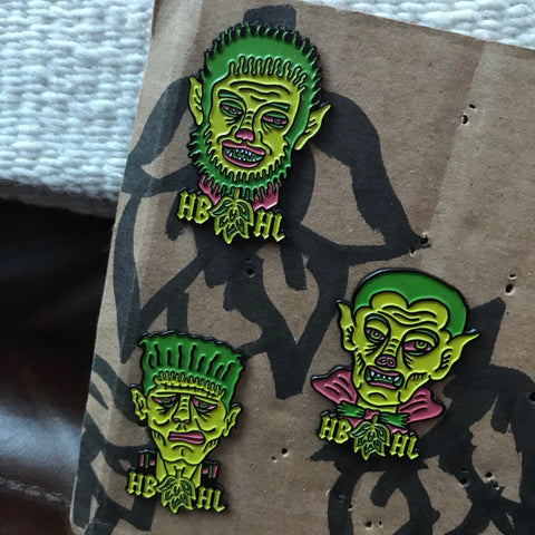 HBHL Hop Monster Pin Pack
