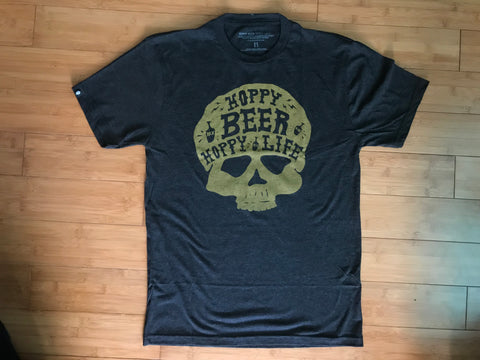 The Hop Skull Beer Shirt