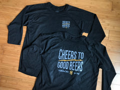 Cheers to Good Beers 3/4 Sleeve Beer shirt