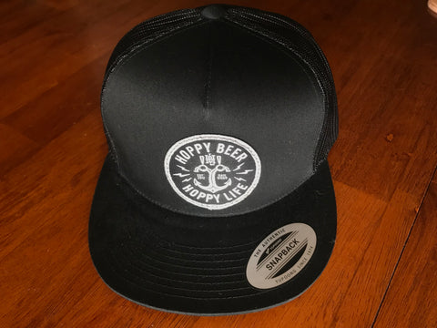 HBHL Anchor Black Beer Hat