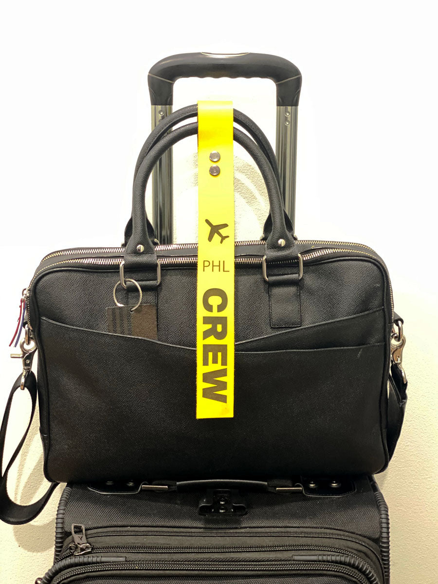 Leather Crew Tag