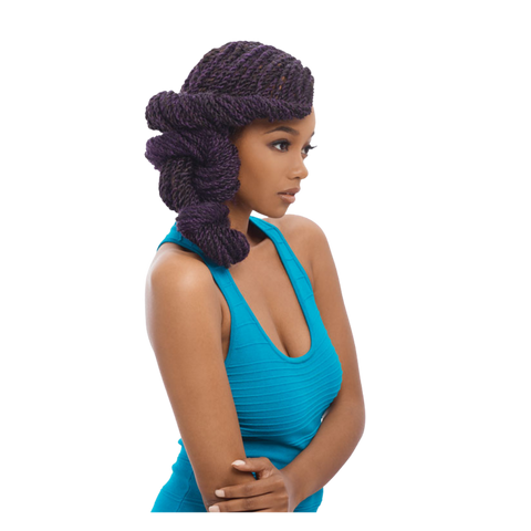 Image of 3X AFRO TWIST BRAID 80""