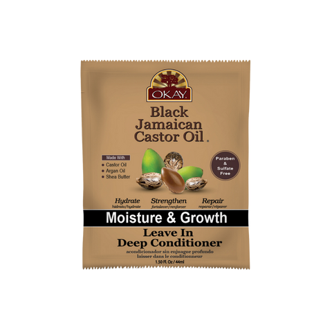 Image of Black Jamaican Castor Oil Moisture Growth Leave In Conditioner