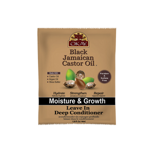 Black Jamaican Castor Oil Moisture Growth Leave In Conditioner