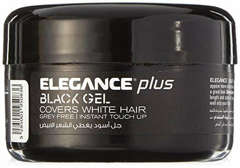 Elegance Black Hair Gel