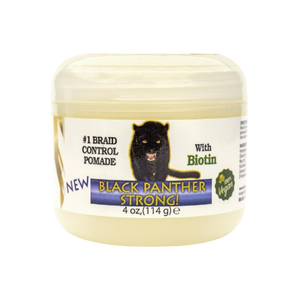 Black Panther Strong plus Biotin- Edge and Braid Control Pomade (Vegan)