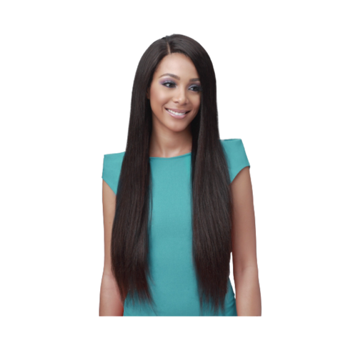 Image of Bundle Hair Whole Lace Wig - Straight