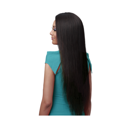 Bundle Hair Whole Lace Wig - Straight