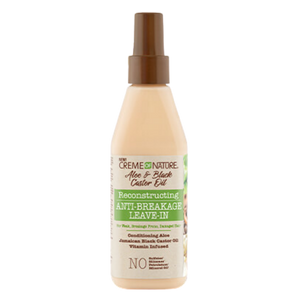 Aloe & Black Castor Oil - Anti Breakage Leave-In