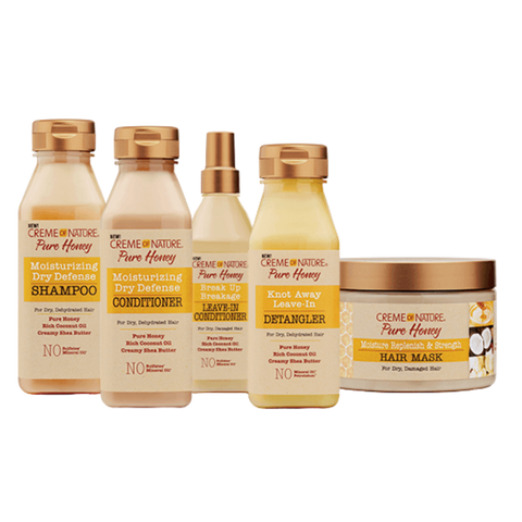 Image of Pure Honey Moisture Replenish & Strength Hair Mask