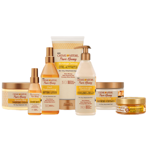 Image of Pure Honey Curl Texturizing Setting Lotion