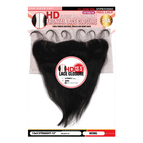 "Image of EVE HD Swiss Lace Frontal 13""x5""- Straight"