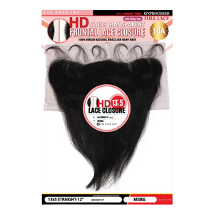 "EVE HD Swiss Lace Frontal 13""x5""- Straight"