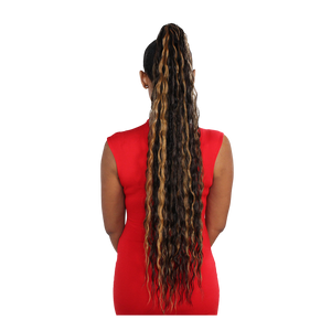 Eve Wrap Ponytail- Malaysian Wave