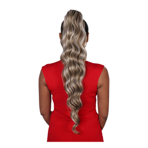 Eve Wrap Ponytail- Ocean Wave