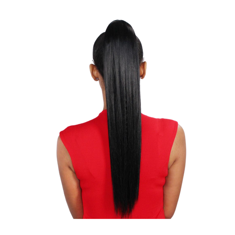 Eve Wrap Ponytail- Silky Straight