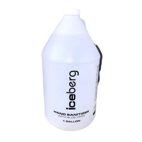 Image of Iceberg Hand Sanitizer With Aloe Vera - 1 Gallon