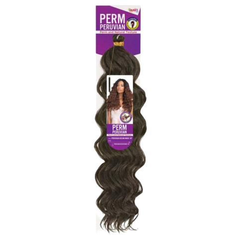 Image of Janet Perm Peruvian Braid - Ocean Wave