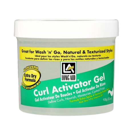 Long Aid Curl Activator Gel Extra Dry Formula