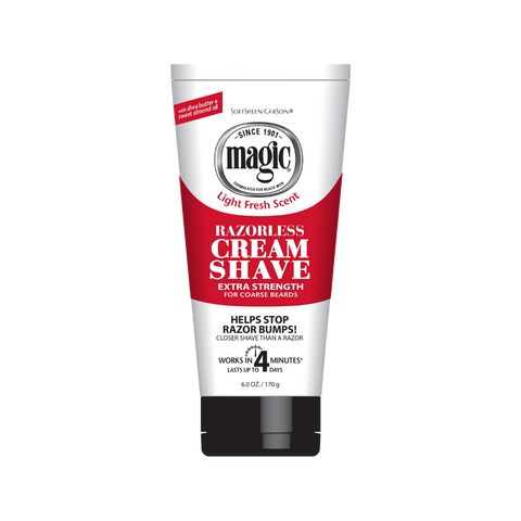Magic Razorless Cream Shave - Extra Strength