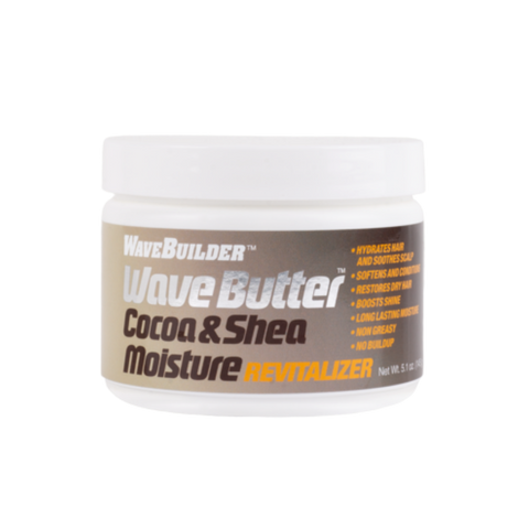 Image of Wave Builder Cocoa & Shea Wave Butter - Moisture Revitalizer