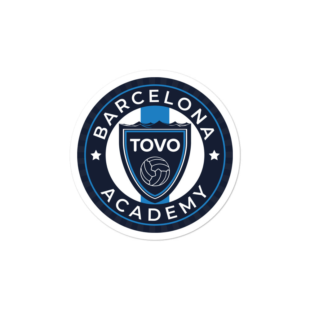 TOVO Academy Barcelona Bubble-free stickers