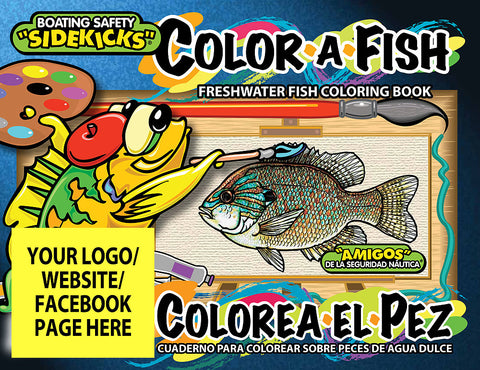 Color-a-Fish (Bilingual) 2,500 books