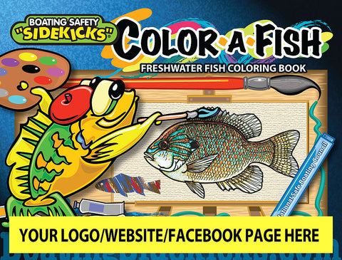 Color-a-Fish (English) 250 books