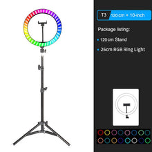 Load image into Gallery viewer, Vlog RGB LED Ring Light - Cyber Alpha