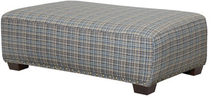 Jackson Furniture Newberg Cocktail Ottoman in Platinum 442128 image