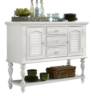 Liberty Furniture Summer House Server in Oyster White 607-SR5239 image