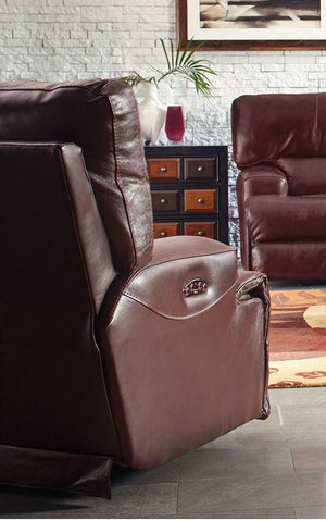 Catnapper Wembley Lay Flat Recliner in Walnut image