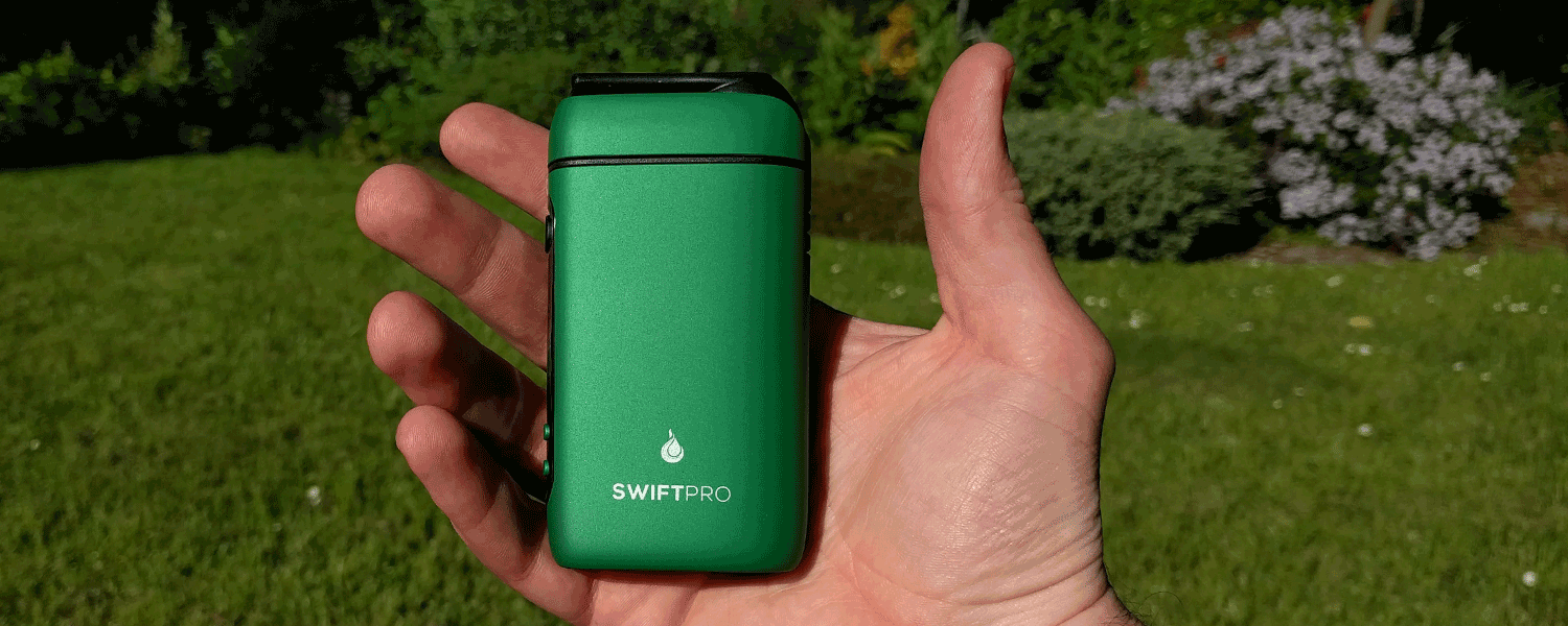 Swift Pro herbal vaporizer from Vape Mate