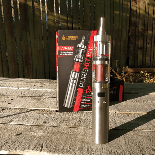 Buy a Flowermate Pure Hit Vaporizer online in NZ from Vape Mate NZ