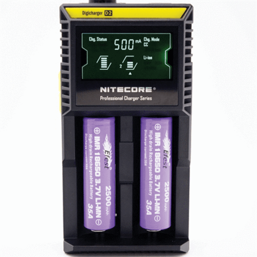 Buy a Nitecore D2 Intelligent Digi Charger online in NZ from Vape Mate NZ