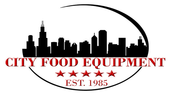 City Food Equipment New & Used Restaurant Equipment and Kitchen Supplies Logo