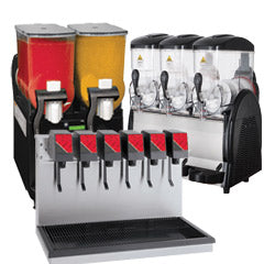 Used Commercial Beverage Dispenser for fountain drinks, refrigerated and frozen drinks