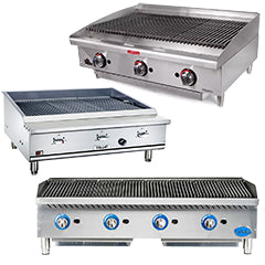 Used Commercial Charbroiler Grills