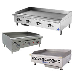Used Commercial Flat Top Grill and Griddles