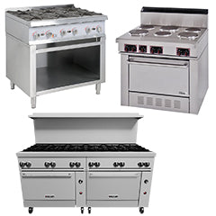 Commercial Used Restaurant Ranges