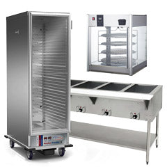 Used Warmers, Holding Cabinets, Display Cases, Steam Tables