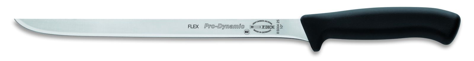 "F. Dick (8500425) 10"" Ham Knife, Flexible, ProDynamic-cityfoodequipment.com"