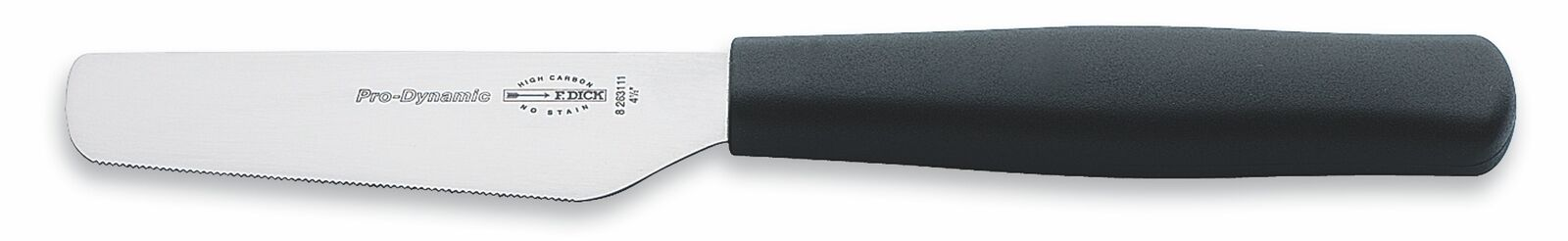 "F. Dick (8263111) 4 1/2"" Breakfast Knife, Serrated Edge-cityfoodequipment.com"