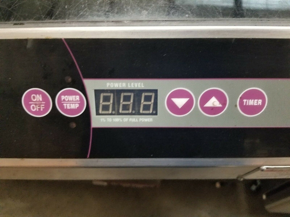 Vollrath 69520 208V Commercial Induction Burner-cityfoodequipment.com