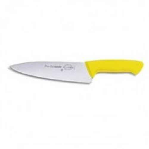 "F. Dick (8544716-02) 6"" Chef's Knife, Yellow Handle -Pro Dynamic-cityfoodequipment.com"